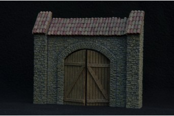 1:35 Rubble arch with resin gate